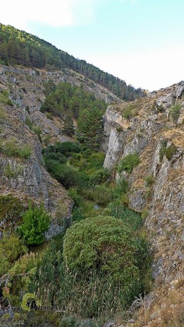 Vistas del barranco de la Hoz