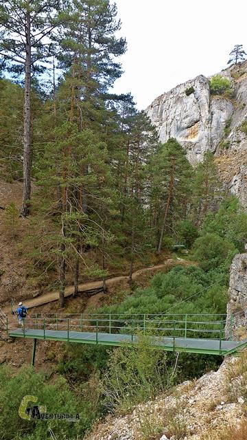 Puentes en el barranco de la Hoz