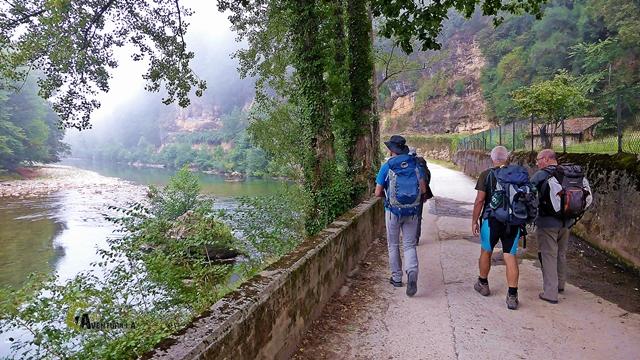 Por el río Sella