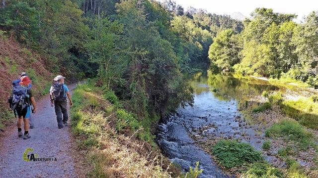 Río Piloña en el concejo de Parres