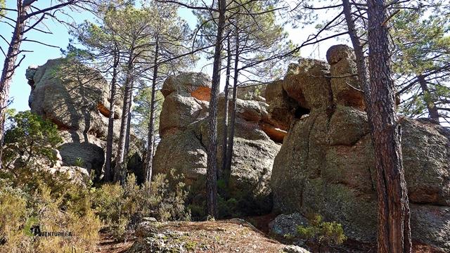Paisaje de rocas