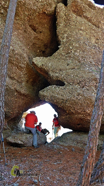 rocas en la serranía Baja