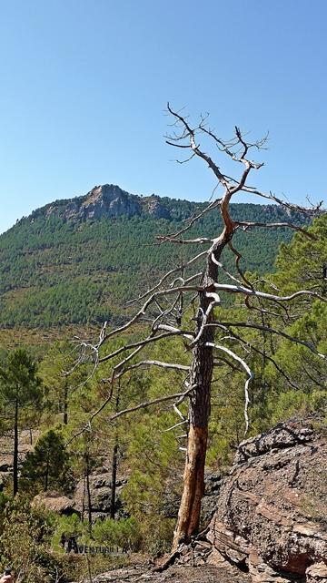 Vistas del pico Ranera durante nuestro descenso.