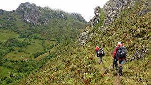 Hacia la Collada Doñango