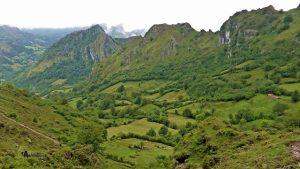 Bonito paisaje Asturiano