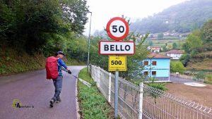 Población asturiana de Bello