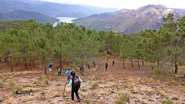 Descendiendo del Cerro del Entredicho