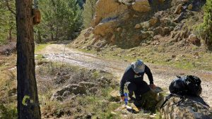 Fuente de las Calzadicas en Linares de Mora