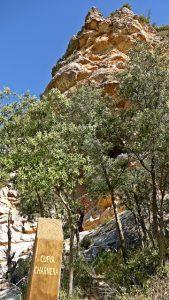 Cueva Charnera en la entrada