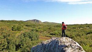 Vistas hacia el pico Hierbas