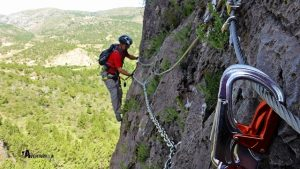 Ferrata en Teruel