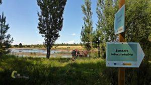 Observatorio de aves en la laguna de Talayuelas