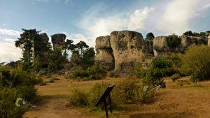 Erosión de la roca caliza