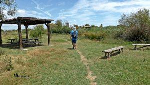 zona de picnic en la Marjal dels Moros