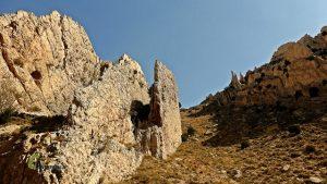 Formaciones del Parque Geológico de Aliaga