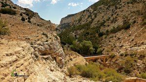 Puente sobre la hoz del Guadalope