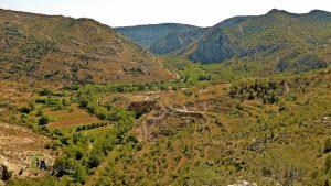 Valle del río Guadalope