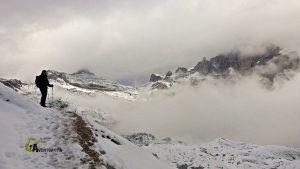 Cerca del Monte Paterno
