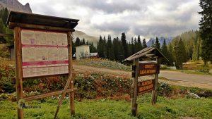 Itinerarios senderistas en los Dolomitas