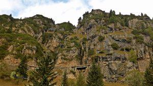 Carretera de subida al Monte Piana