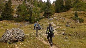 Sendero hacia el Monte Piana