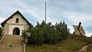 Ermita en Monte Piana