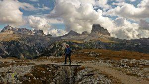 Monte Piana y trincheras