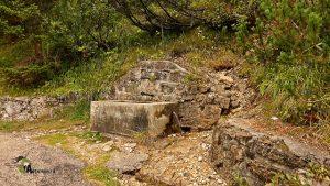 Fuente en Monte Piana