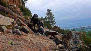 Desprendimiento de rocas