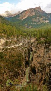Cañón del río Fanes