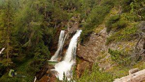 Cascadas del río Fanes
