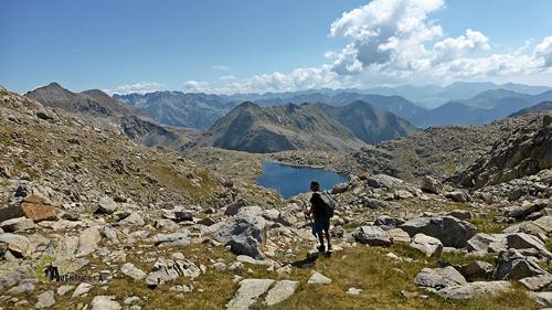 Estany en Pirineos
