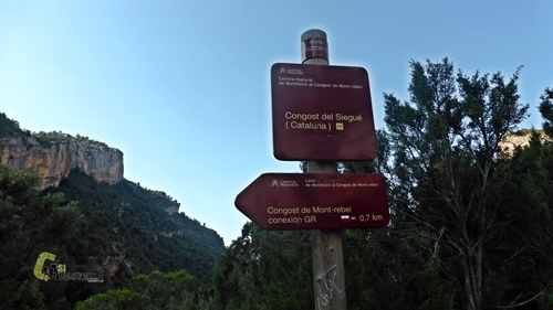 Camino Natural de Montfalcó al Congost de Mont-Rebei