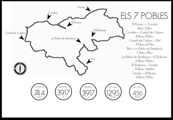 Mapa 7Pobles. Ilustración: 7pobles.com