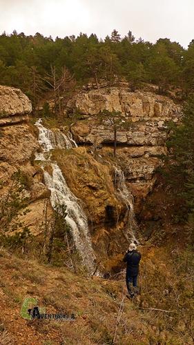 Cascadas en la sierra de Gudar