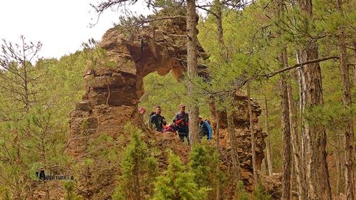 Arco de piedra en Sierra de Gudar