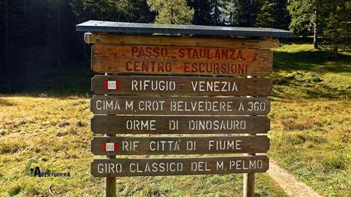 Panel de itinerarios