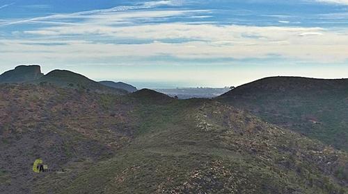 Parte  de la sierra Calderona