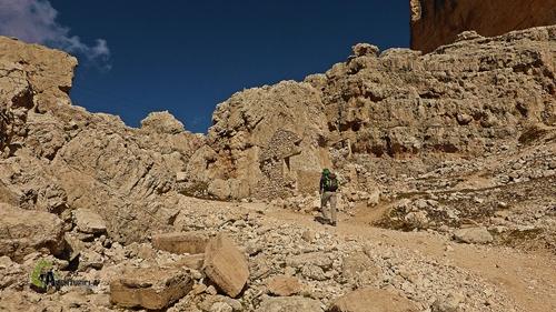 Ruinas del refugio