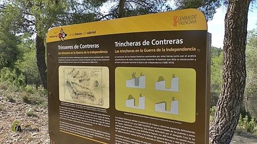 trincheras de Contreras