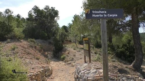 Trinchera Huerta la Carpia