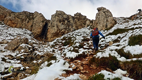 Subir al valle de Formín