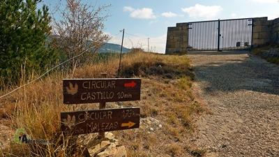 vuelta al castillo de El Castellar