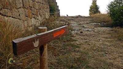 senda en El Castellar