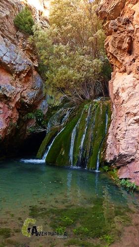 cascada del río Mora