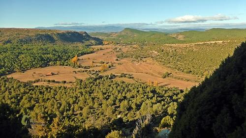 Vistas hacia Mora de Rubielos