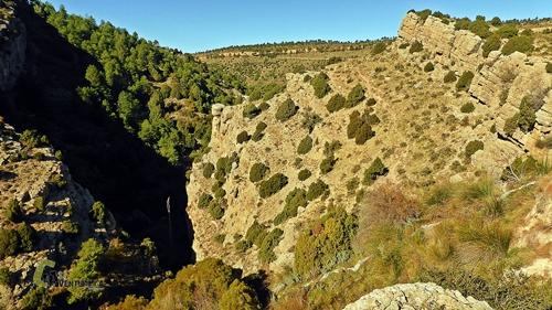 Estrecho del río Mora