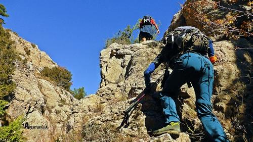 Dificultades en la montaña