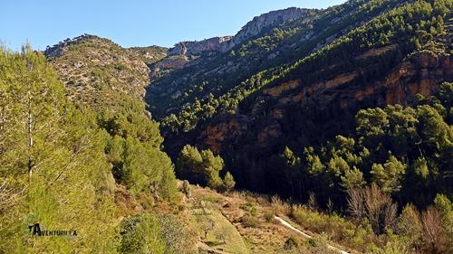 Vistas del valle del río Lucena
