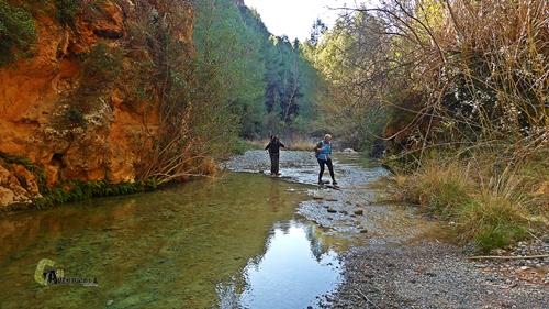 Cruzamos el río Lucena